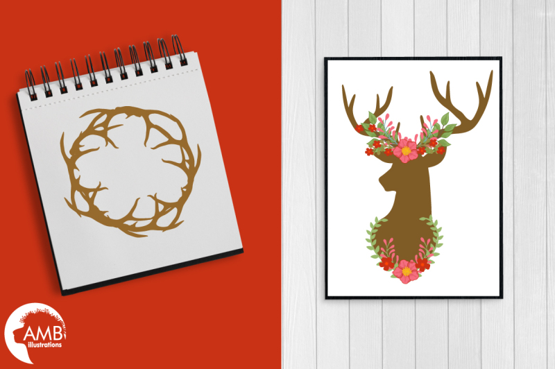 autumn-antlers-graphic-illustration-clipart-amb-1488