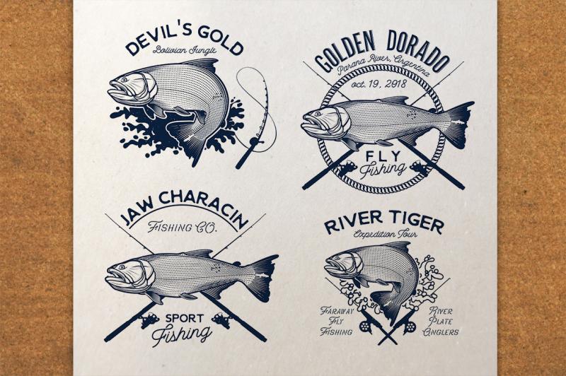 golden-dorado-fishing-logo