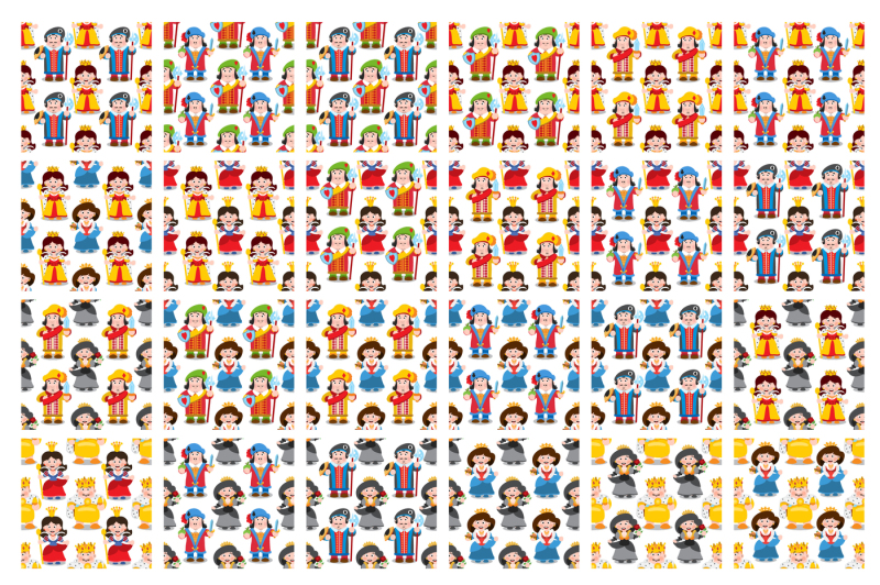 card-characters-and-patterns