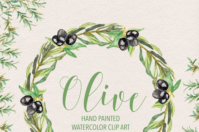 watercolor-olive-clipart-olive-wreath-green-leaf-clipart-floral-clipart-leaf-clipart-wedding-clip-art-olive-clip-art