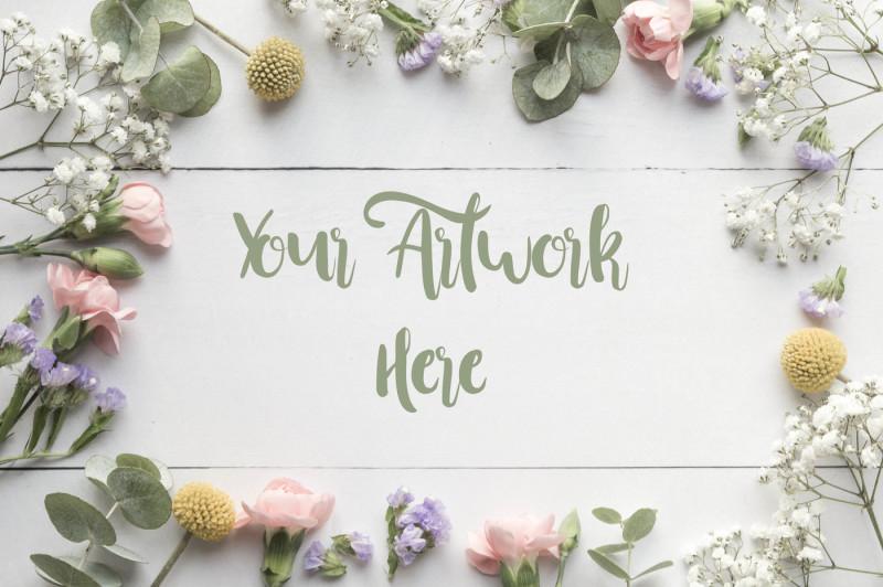 frame-of-flowers-flatlay