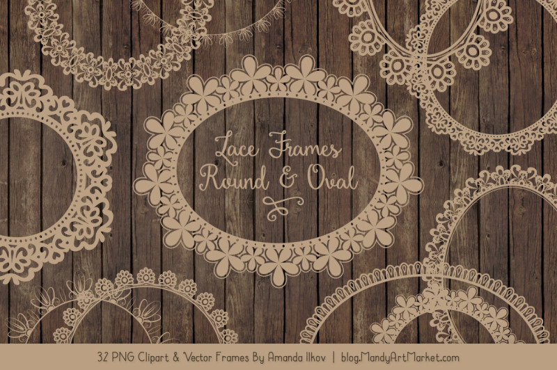 mixed-lace-round-frames-in-champagne