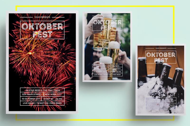 minimalist-oktoberfest-flyer