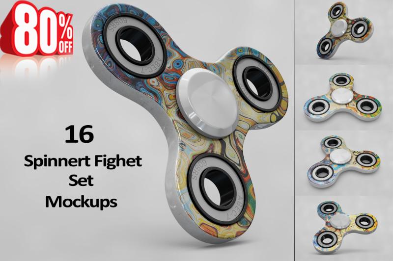 Free Spinner MockUp (PSD Mockups)