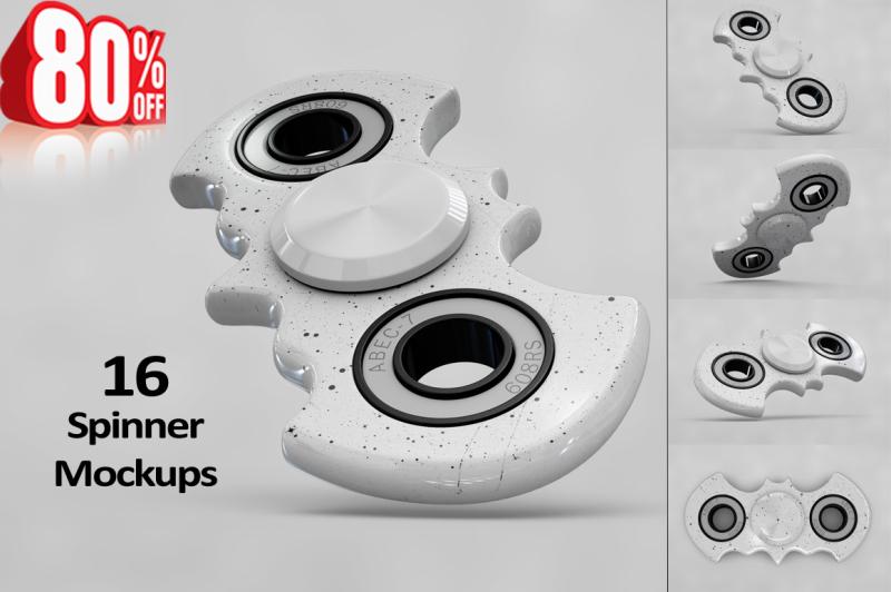 Free Spinner MockUp Vol.2 (PSD Mockups)