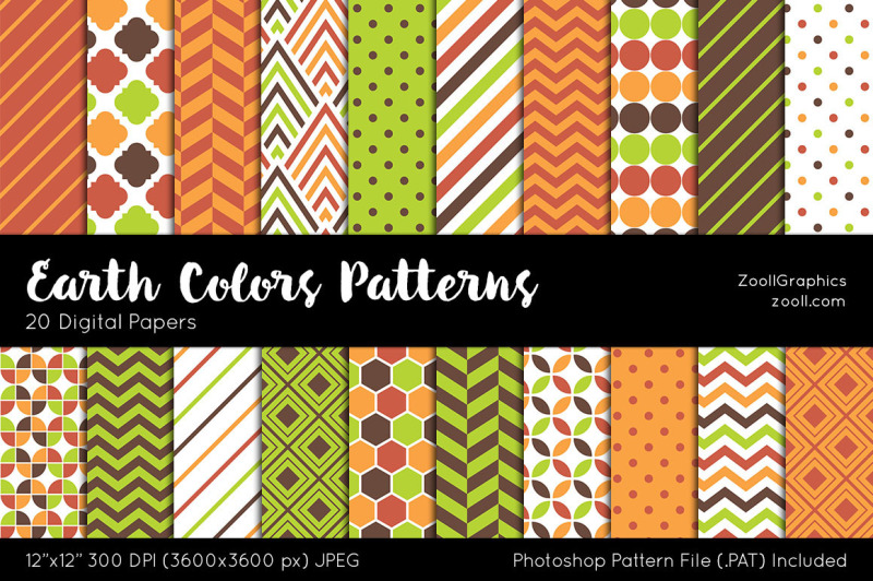 earth-colors-digital-papers
