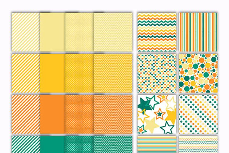 tropical-tones-digital-paper