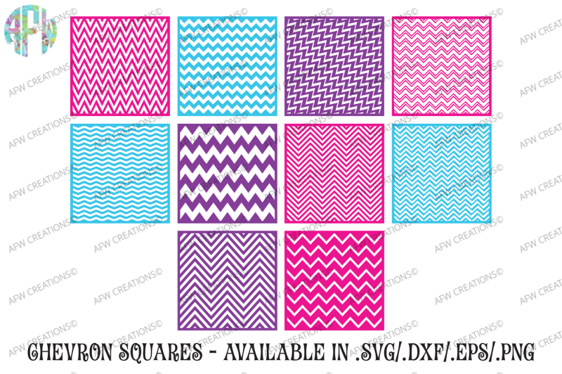 chevron-pattern-squares-svg-dxf-eps-cut-files