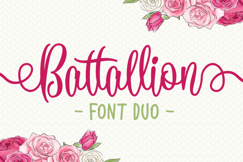 battallion-font-duo