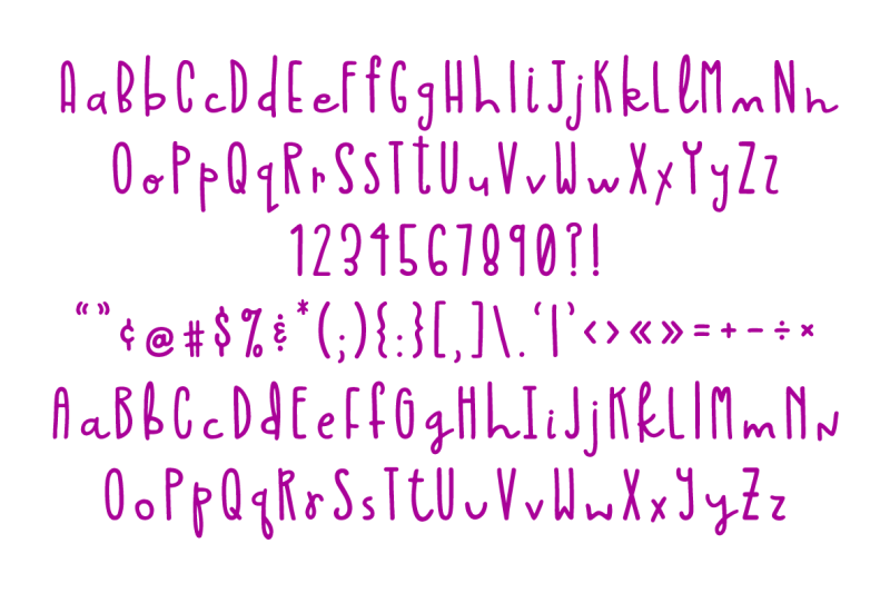 barb-and-cally-font