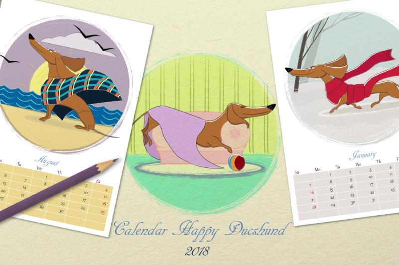 wall-printable-calendar-year-dog-2018