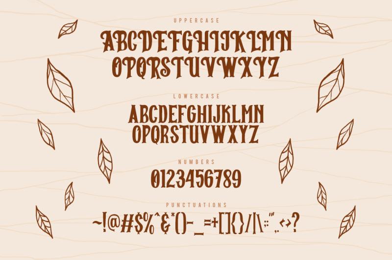 breaks-typeface