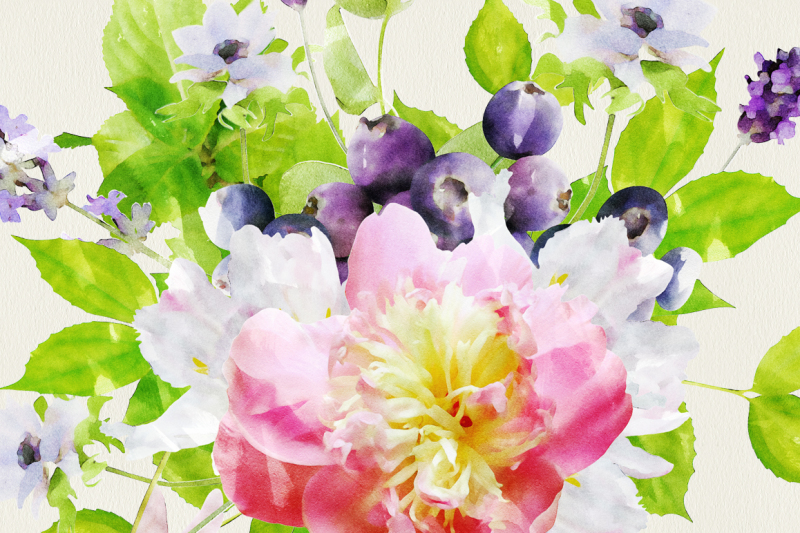 watercolor-flowers