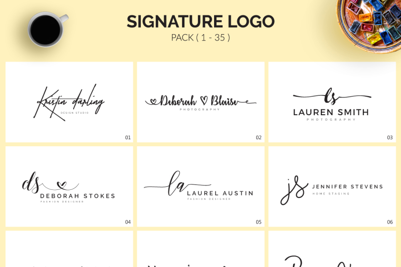 70-signature-logo-bundle