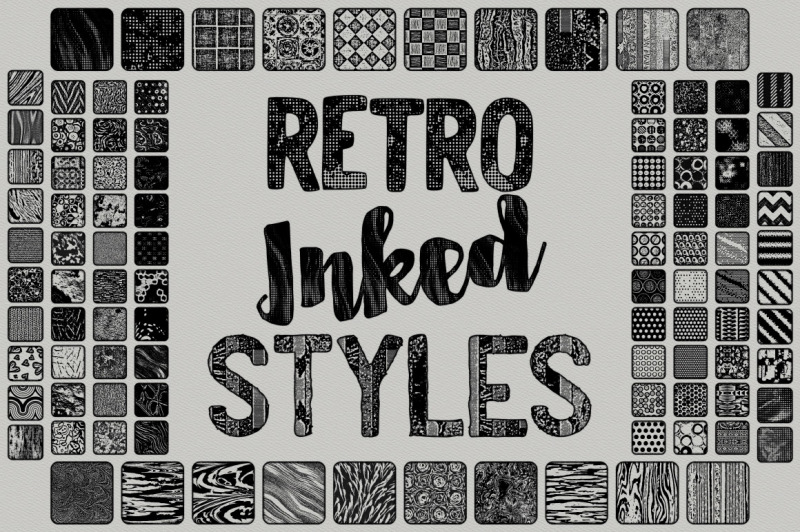 scribbled-and-retro-inked-styles
