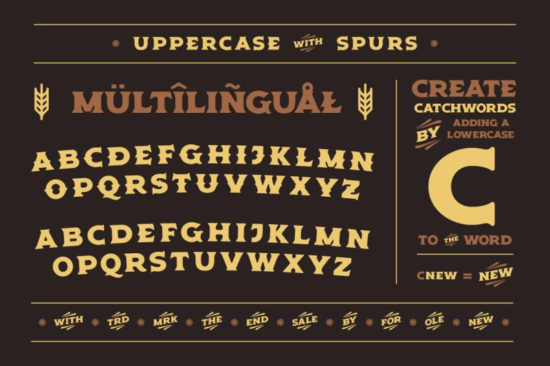 old-spirits-display-font