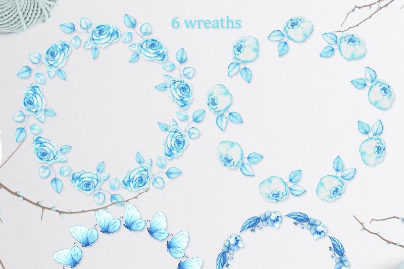 winter-bouquet-watercolor-set