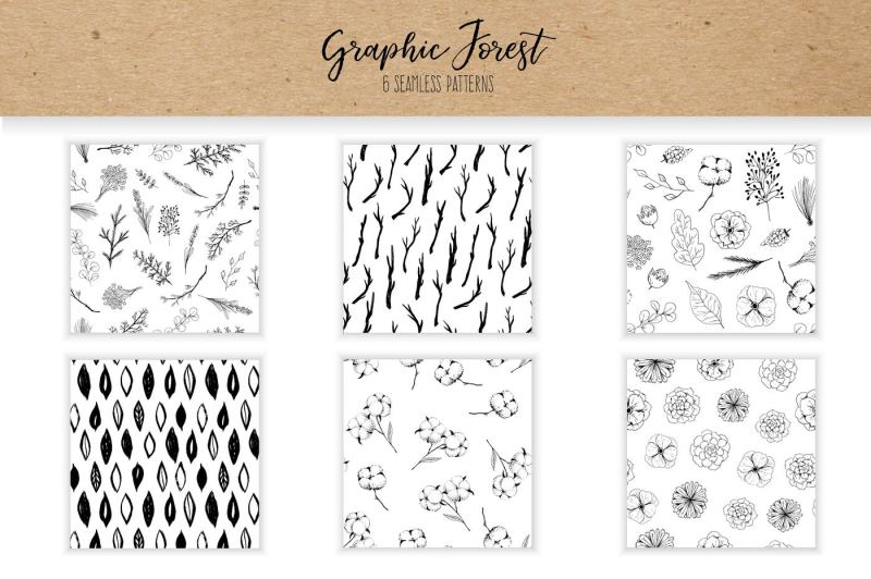 vector-graphic-forest-collection