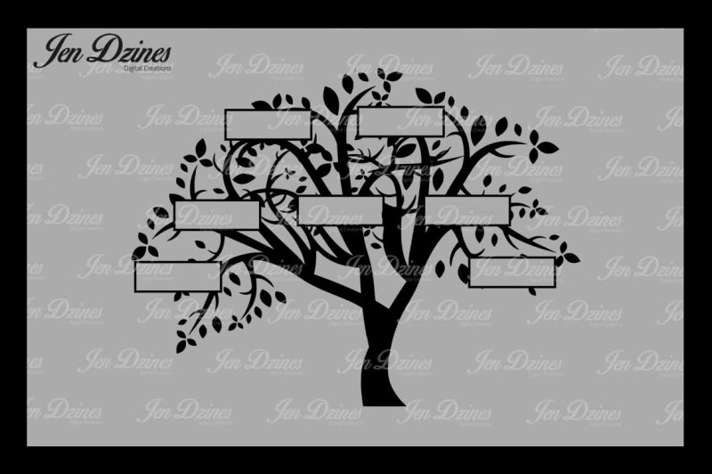 family-tree-7-names-vg-dxf-eps-png