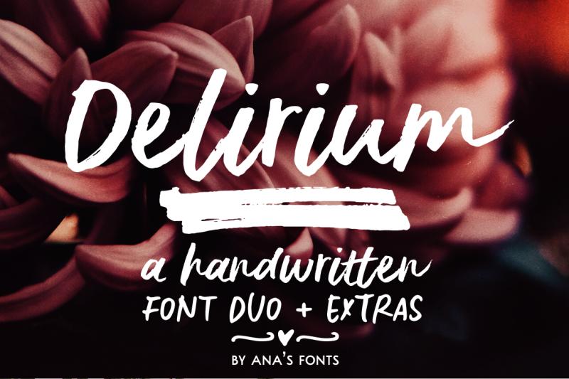 delirium-a-brush-font-duo