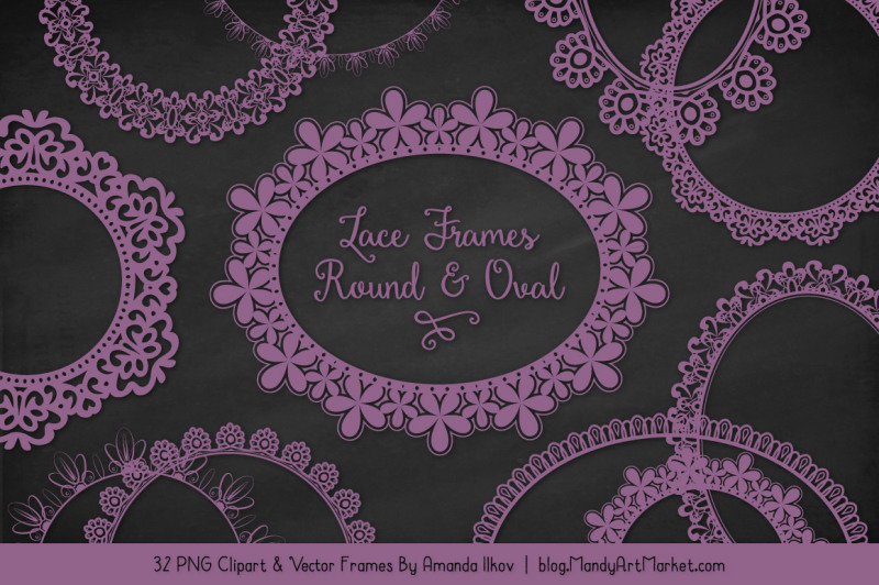 mixed-lace-round-frames-in-amethyst