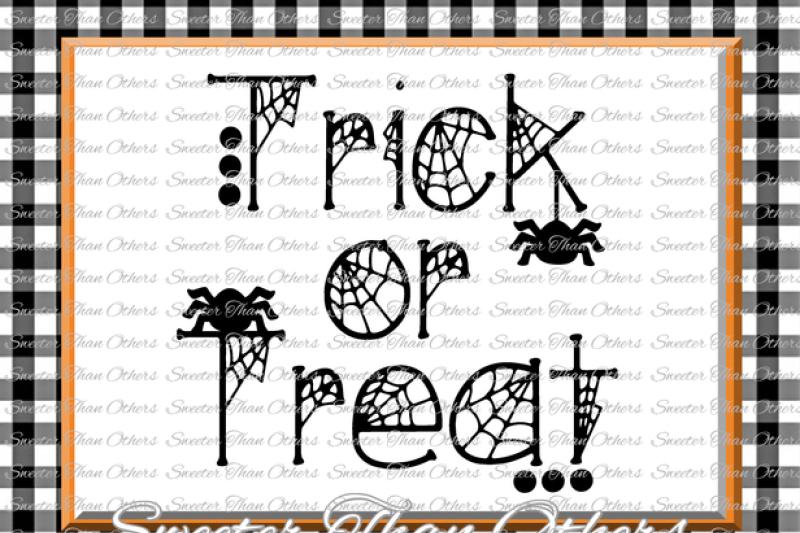 halloween-svg-trick-or-treat-svg-spiders-svg-dxf-silhouette-studios-cameo-cricut-cut-file-instant-download-vinyl-design-htv-scal-mtc