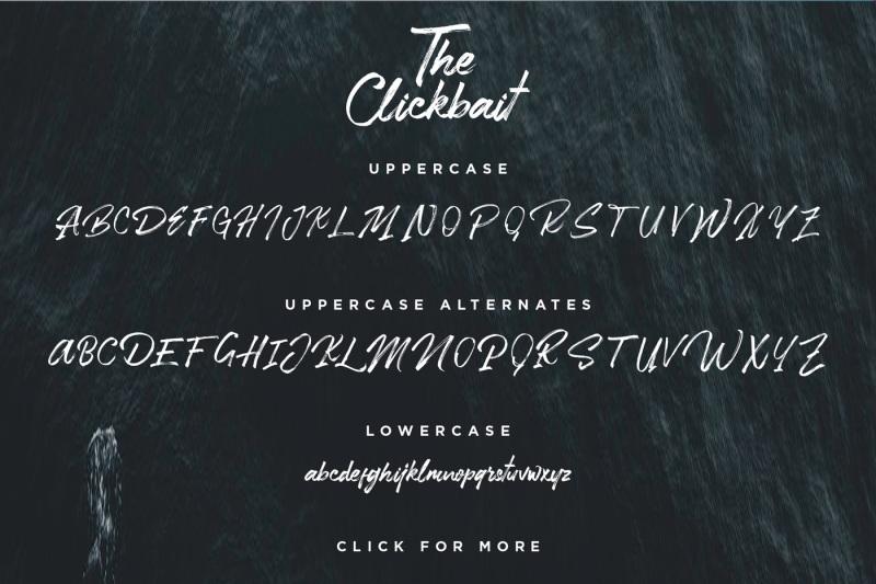 clickbait-logo-font