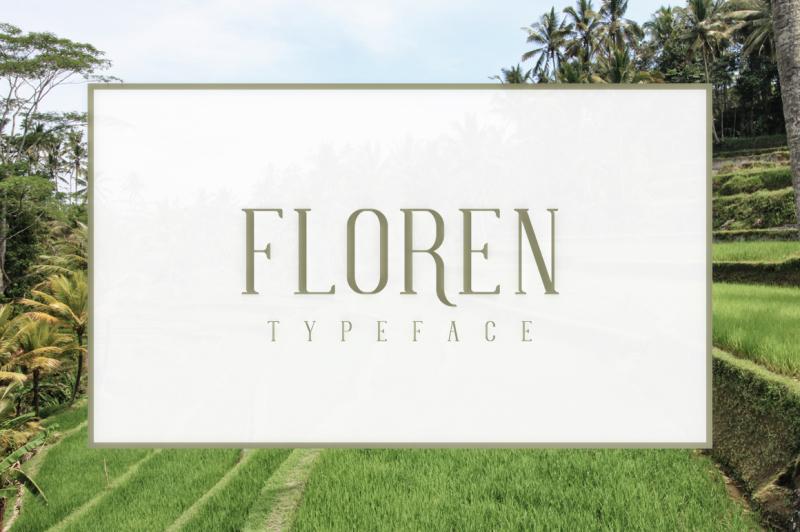 floren-typeface