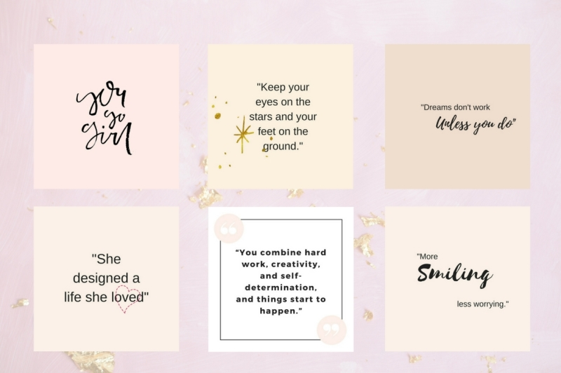 Instagram Quotes Pack By Creative Stash Thehungryjpeg Com