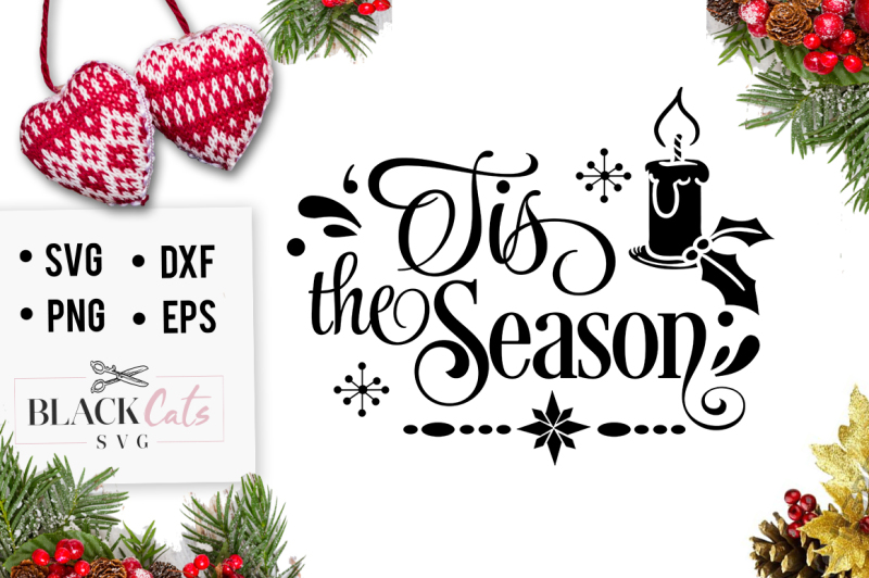 tis-the-season-christmas-svg