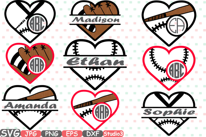 baseball-heart-split-and-circle-silhouette-svg-cutting-files-digital-clip-art-graphic-studio3-cricut-cuttable-die-cut-machines-love-ball-valentines-sports-sport-stitches-softball-frame-frames-702s