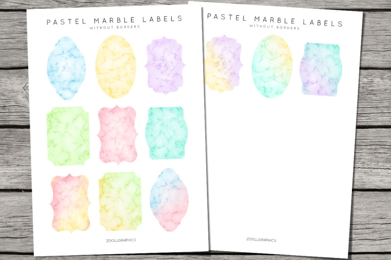 pastel-marble-labels-with-and-without-borders