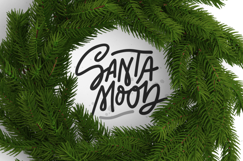 fun-christmas-lettering-and-clipart