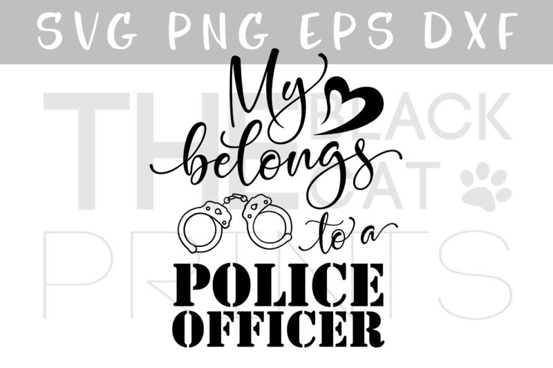 my-heart-belongs-to-a-police-officer-svg-dxf-png-eps