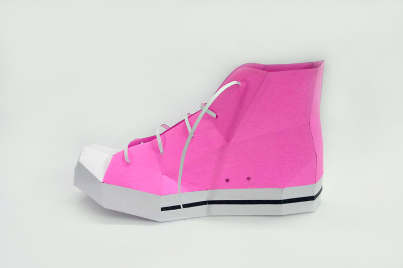diy-converse-shoe-3d-papercraft