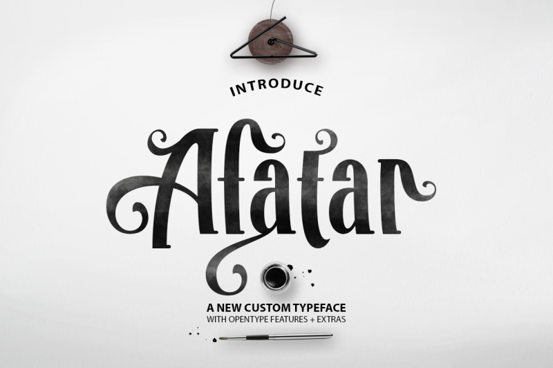 afatar-typface