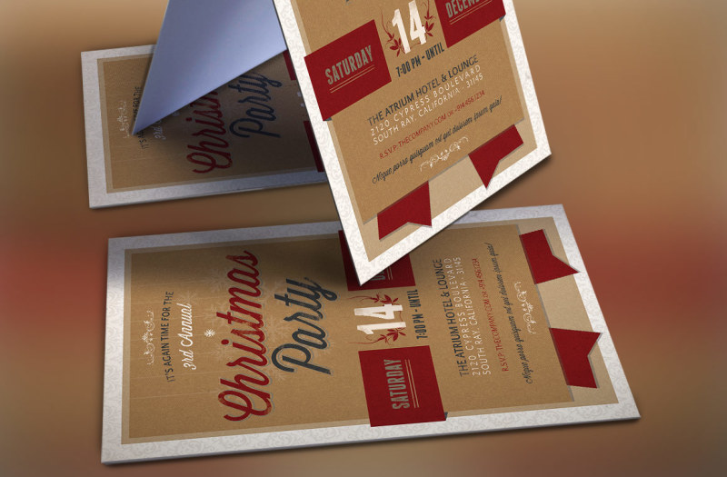 retro-christmas-party-invitation-template