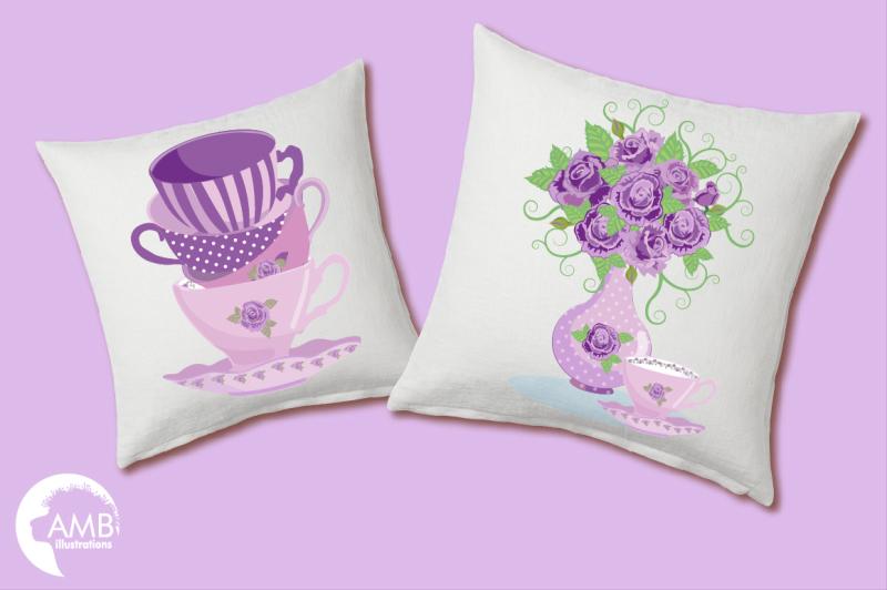 lavender-tea-pots-cliparts-graphics-illustrations-amb-1196