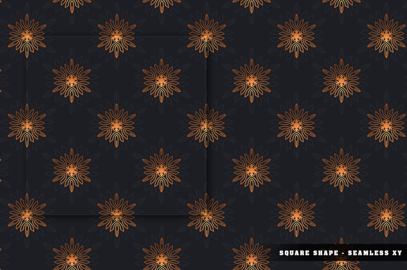 100-snowflake-seamless-patterns