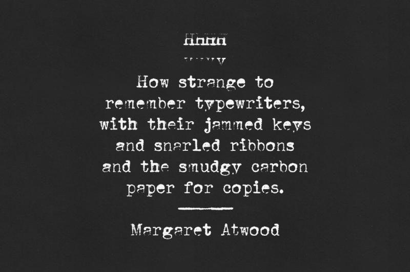 mystery-typewriter-font