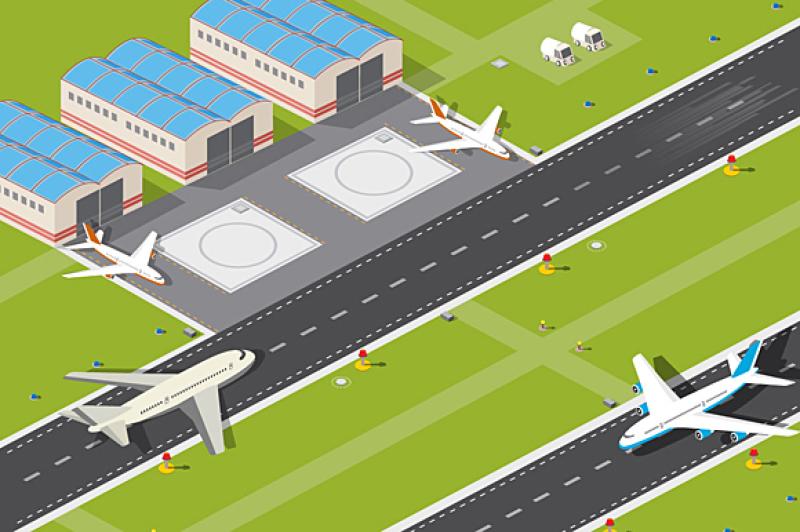 airport-runway-vector