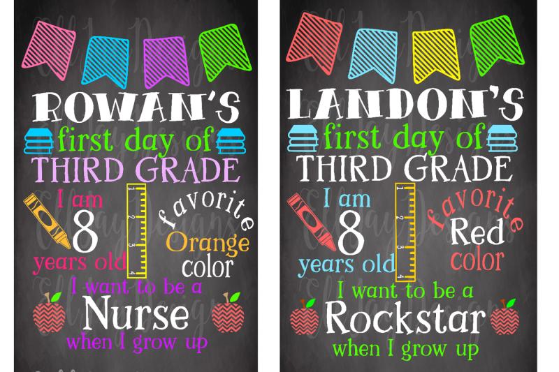 school-chalkboard-template