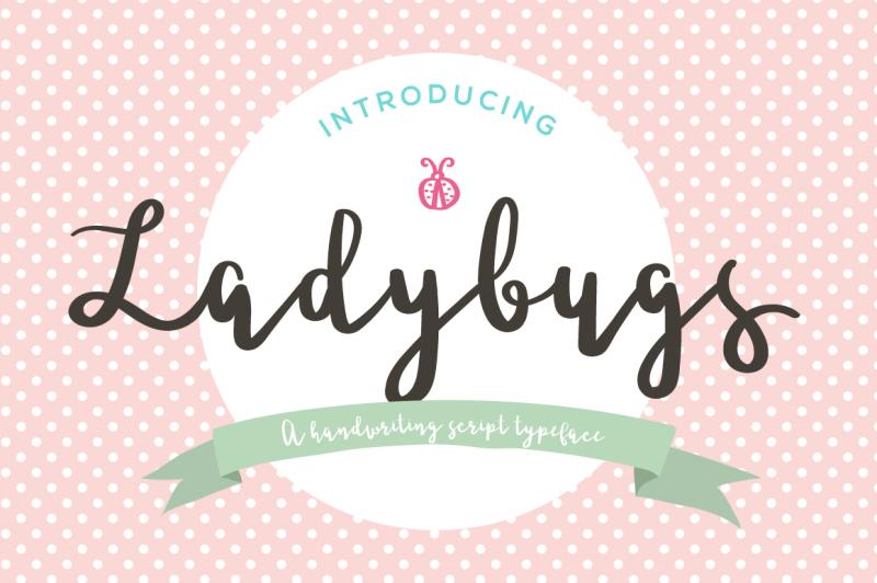ladybugs-script-font