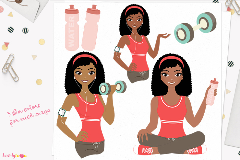 workout-girl-character-clipart-nelly-l082