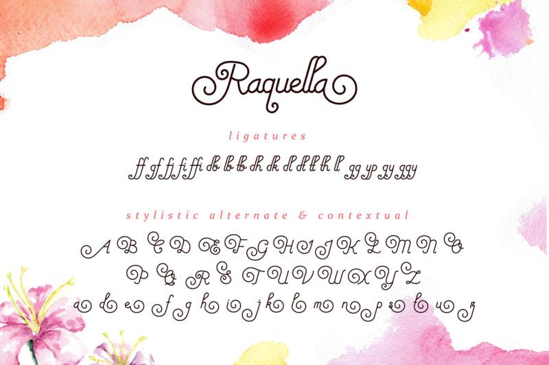 raquella-monoline-script