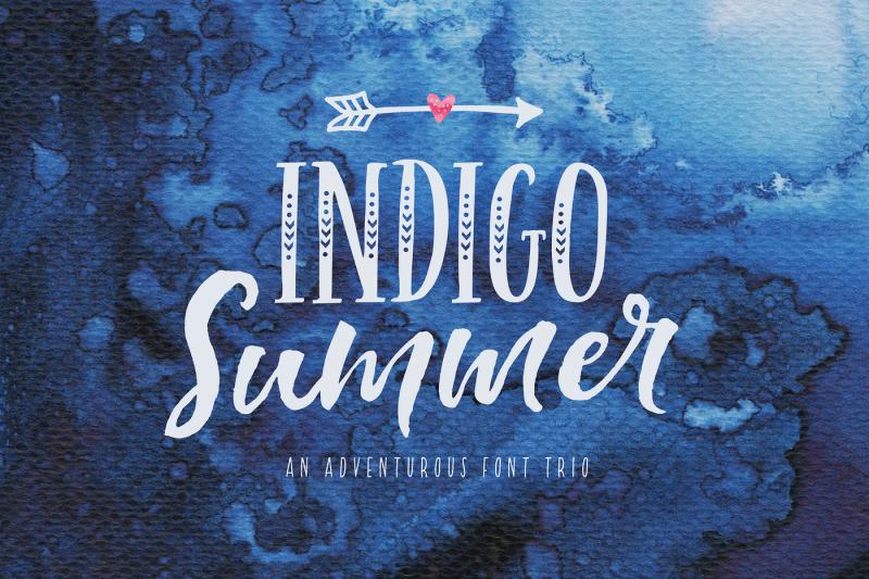indigo-summer-font-duo