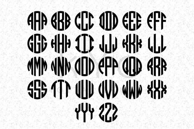 circle-monogram-font-in-ttf-and-otf-formats-cricut-fonts-cricut-files
