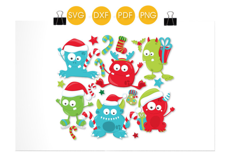 christmas-monsters-svg-png-eps-dxf-cut-file