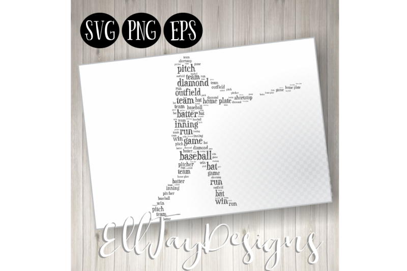 baseball-player-wordart