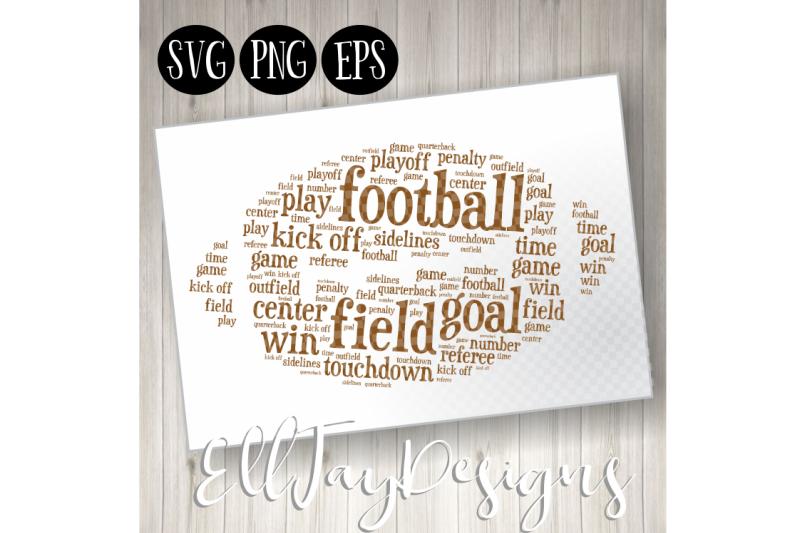 football-wordart